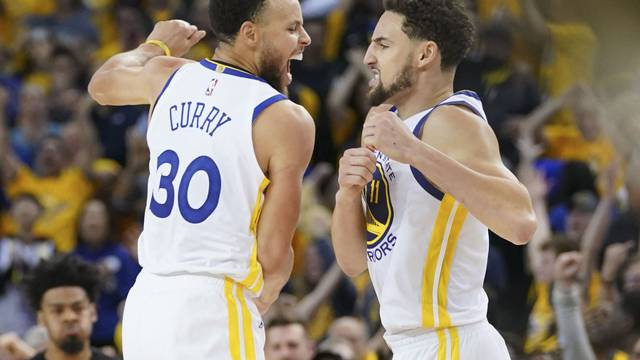 NBA: Playoffs-Houston Rockets at Golden State Warriors
