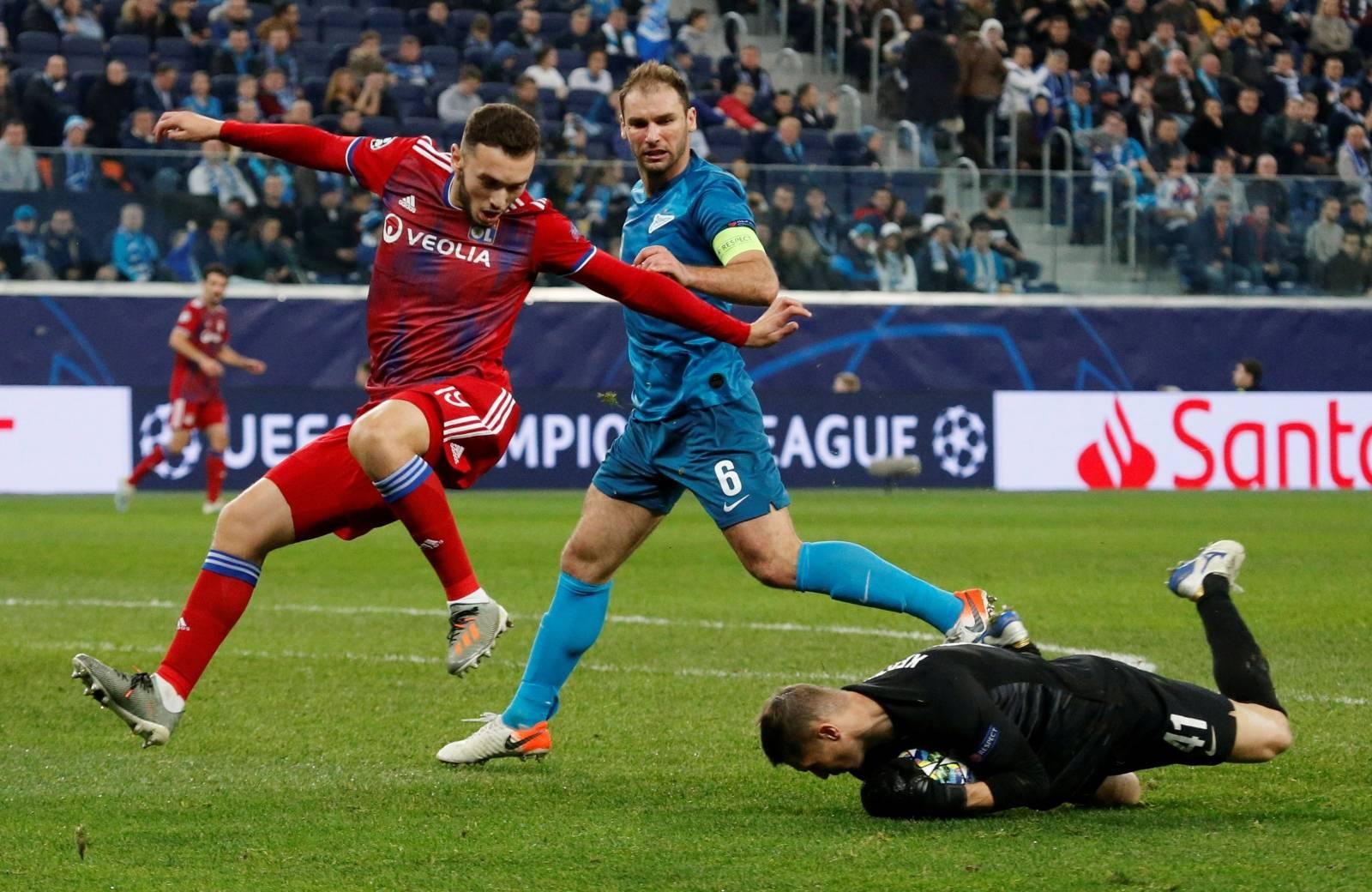 Champions League - Group G - Zenit Saint Petersburg v Olympique Lyonnais