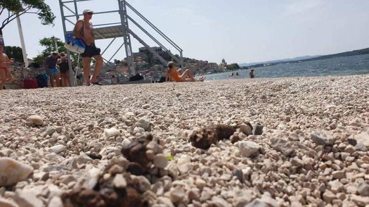 Ovo je šibenska plaža koja ima status 'izvrsna kvaliteta mora'