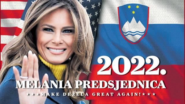 Make Dežela great again! Može li Melania postati predsjednica svoje Slovenije: 'Imala bi šanse'