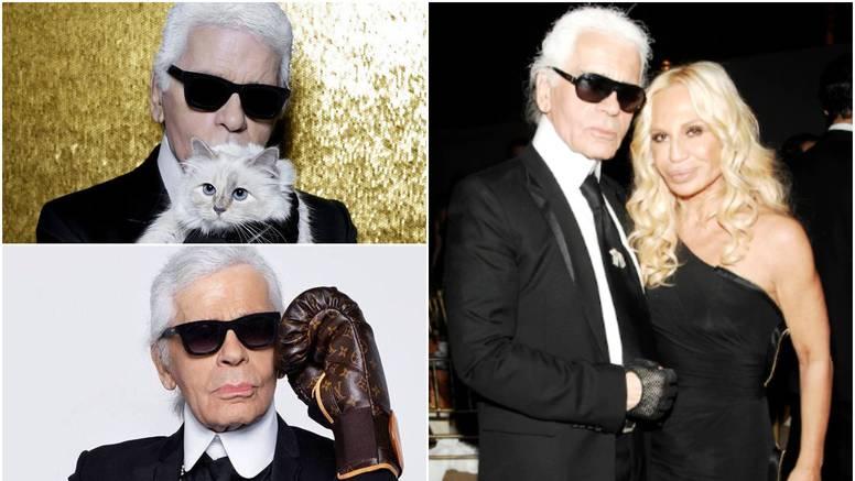 Karl Lagerfeld spasio je Chanel od propasti, izgubio 41 kg zbog mode, a milijune ostavio mački