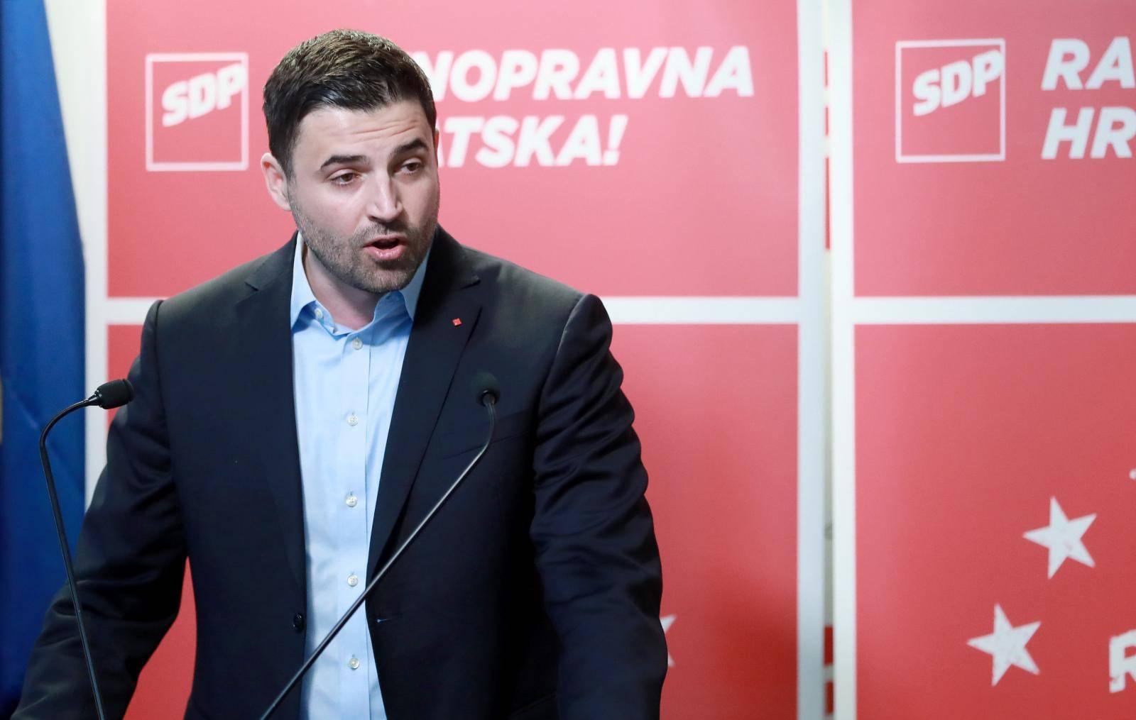 'SDP prihvaća veliku koaliciju jedino s građanima Hrvatske'