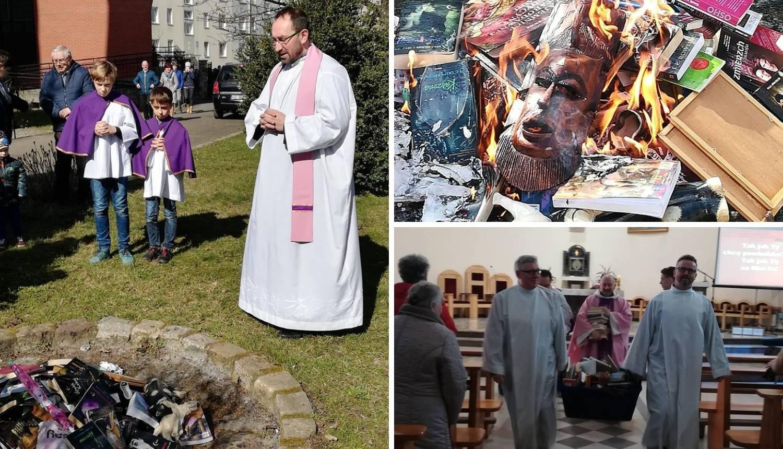Poljski svećenik pred djecom spaljivao knjige o H. Potteru