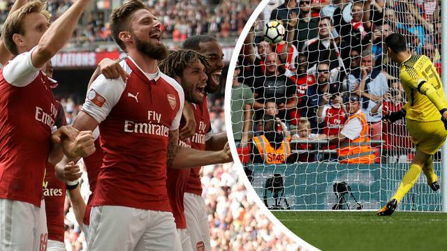Courtois je napravio 'Ramosa', Arsenal osvojio 15. superkup!