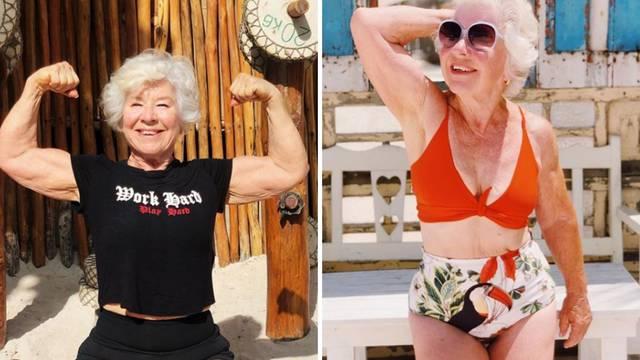 Baka Joan (74): Prije tri godine smršavila 30 kg, a sada postala prava fitness influencerica