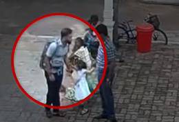 Objavili su snimku: Potapšao je dijete, ušao u crkvu i raznio se