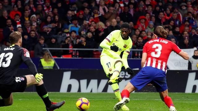 La Liga Santander - Atletico Madrid v Barcelona