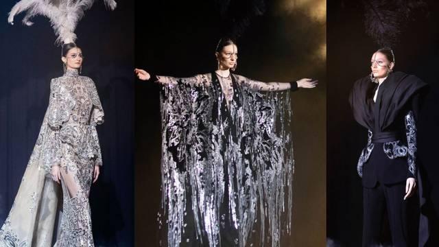 Elie Saab donosi glamur: Perje i veliki kristali za scenski nastup