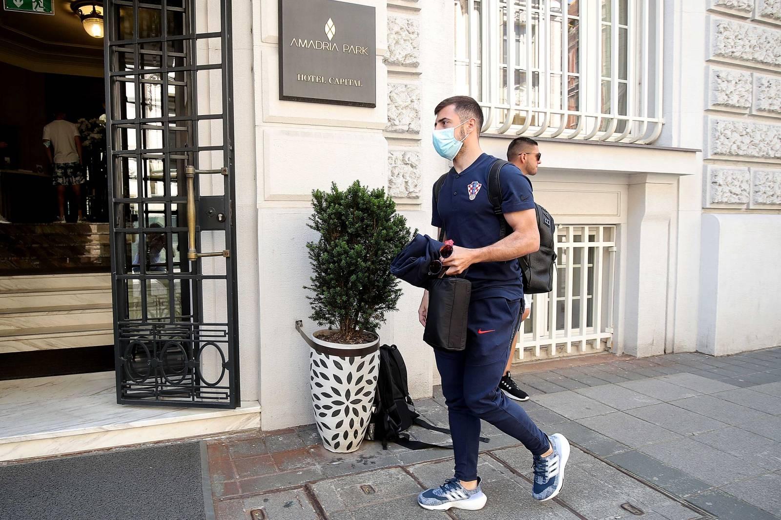 Okupljanje hrvatske nogometne reprezentacije uoči prijateljskog ogleda s Belgijom