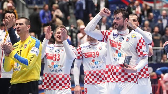 Hrvatski rukometaši slave u Grazu pobjedu nad Crnom Gorom