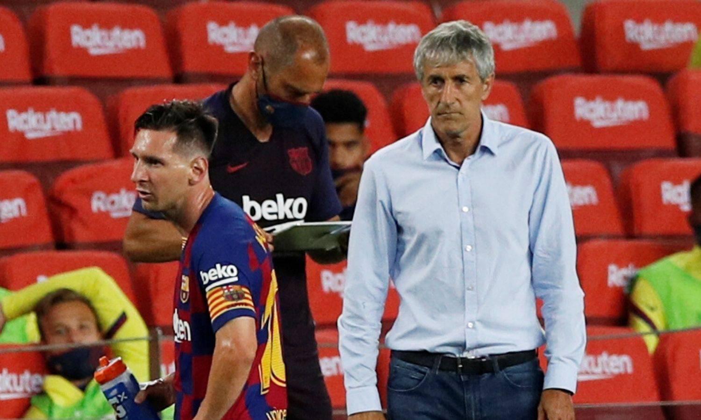 'Messi? Mene se ne pita za to. Griezmann? Ne mogu svi igrati'