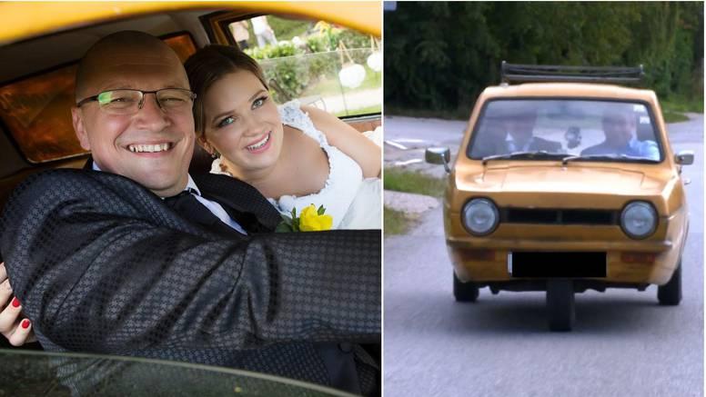 Tomislav  kasnio na vjenčanje pa stigao u trokolici braće Trotter: 'Automobil mi nije htio upaliti'