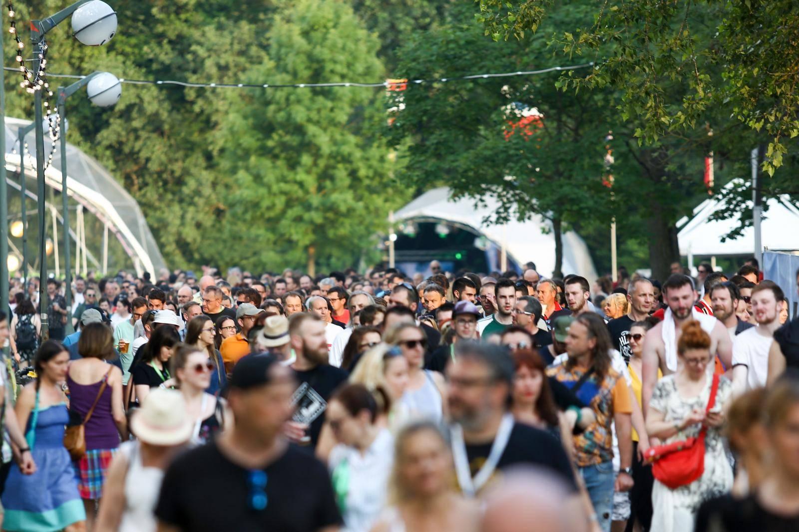 Zagreb: Atmosfera 2. večeri INmusic Festivala