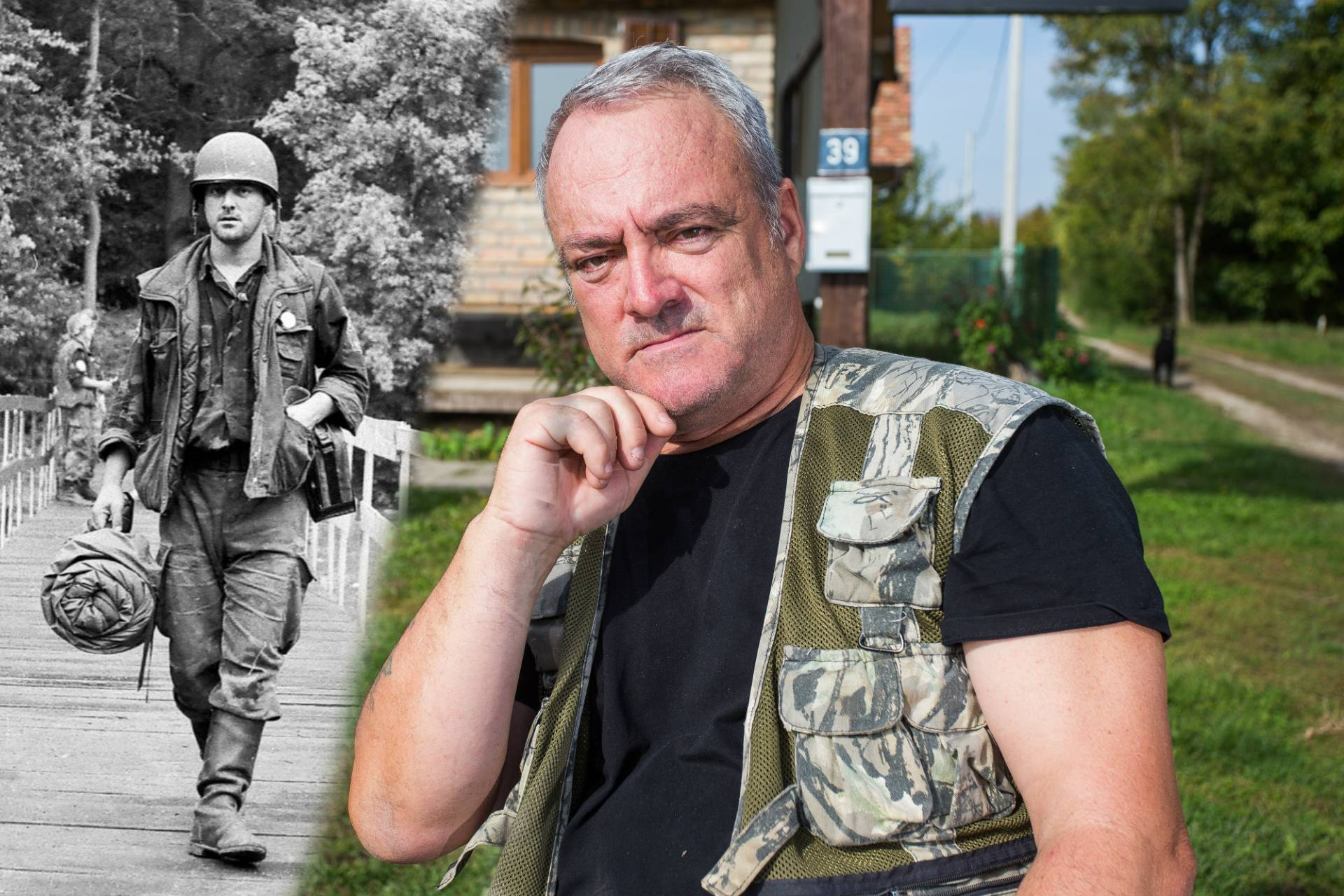 'Vidio sam rat u Hrvatskoj na TV-u i došao braniti tu zemlju'