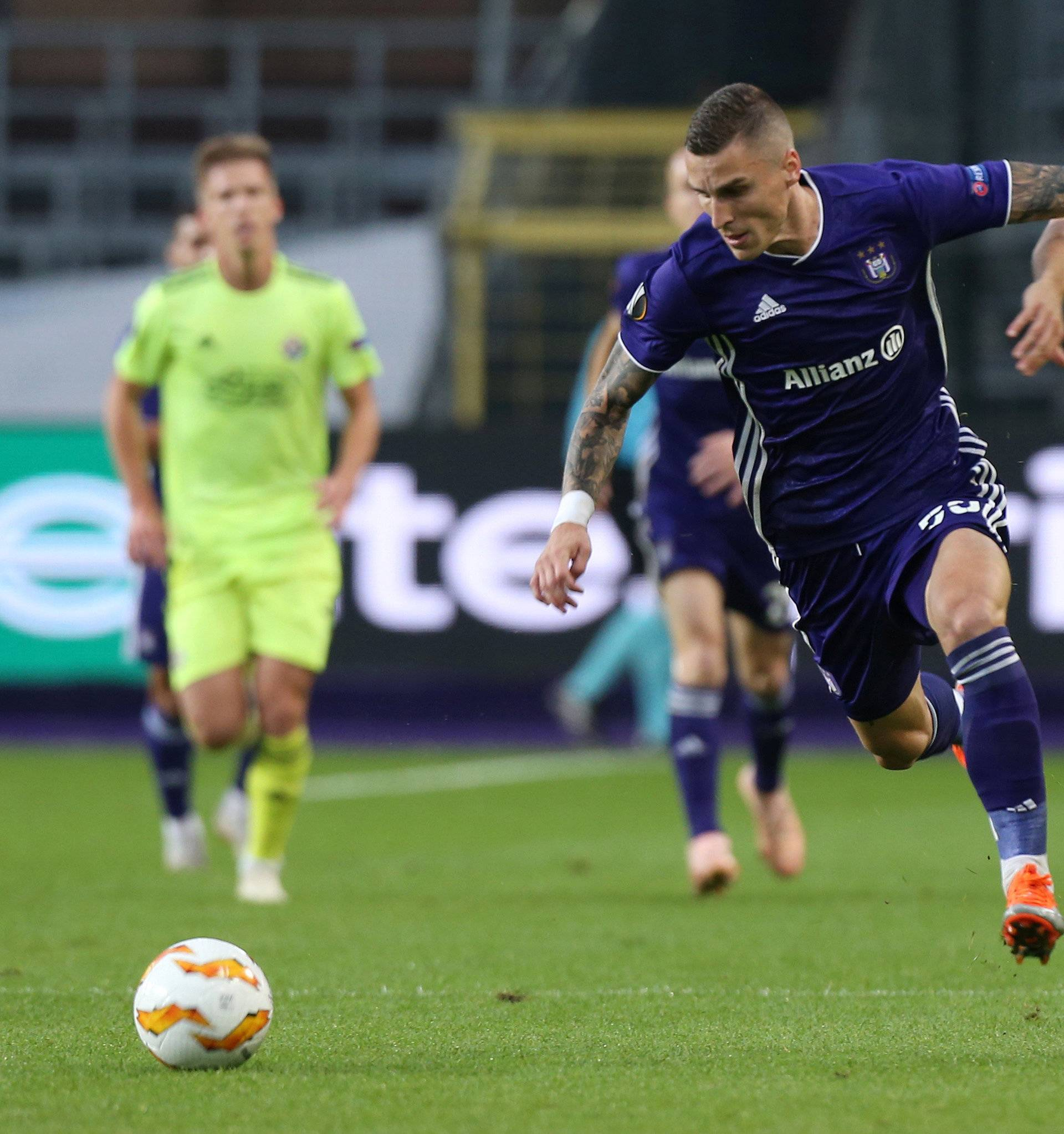 Europa League - Group Stage - Group D - Anderlecht v GNK Dinamo Zagreb