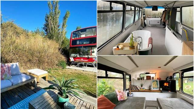 Kupili su londonski autobus na kat i pretvorili ga u ugodni dom