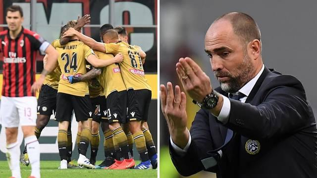 Tudor kao spasitelj Udinesea! Otkinuli su bod velikom Milanu