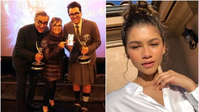 Zendayi kipić za najbolju žensku ulogu, serije 'Schitt's Creek', 'Čuvari' i 'Nasljeđe' dominirale