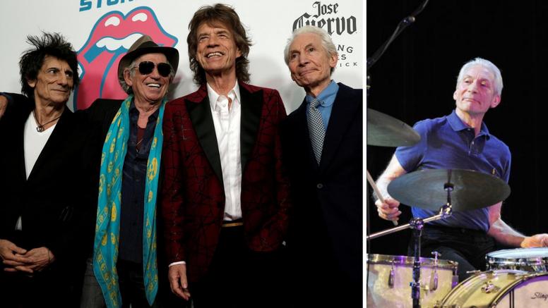 Zvijezda Rolling Stonesa Charlie Watts iznenada morao odustati od turneje, našli su mu zamjenu