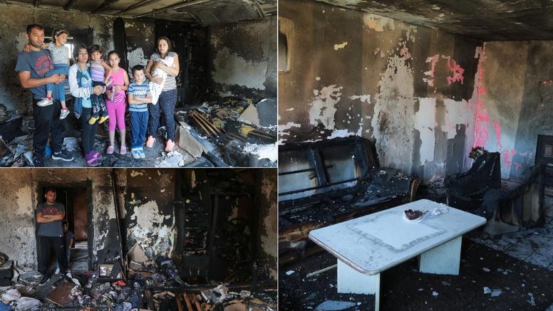 Đakovo: 'Djeca su susjedu auto ogrebala, on nam je zapalio kuću. Ostali smo bez svega'