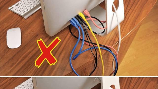 8 savjeta kako sakriti kablove po kući - vrlo jednostavne ideje