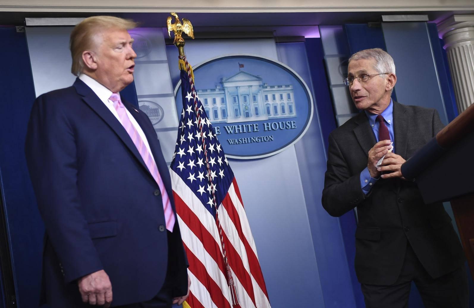 Trump Coronavirus Task Force press briefing at the White House