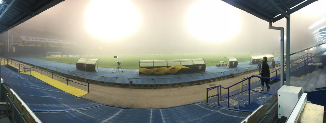 Magla se spustila na Maksimir, činilo se da prijeti čak i odgoda