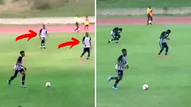 Strava na nogometu: Munja je pogodila nekoliko mladih igrača