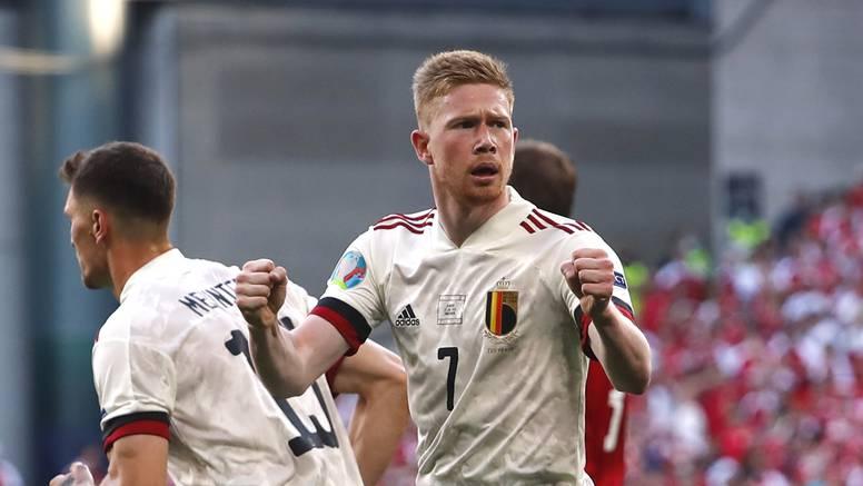 Maestralni De Bruyne razbio Dance: Belgija u osmini finala!