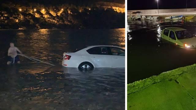 Auti otklizali u more kraj Zadra i na Pelješcu: 'Lokalni heroj ga je svezao i vukao sve do obale!'