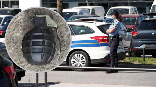 Na motoru vozila vinkovačke tvrtke pronašli ručnu bombu