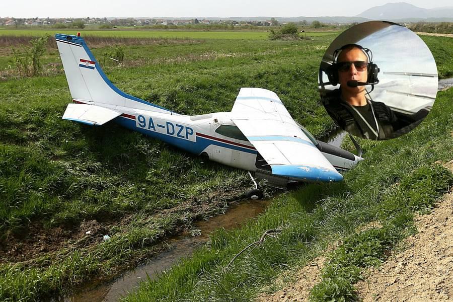 Svjedok pada Cessne: Da je bio iskusniji, pilot bi sigurno sletio