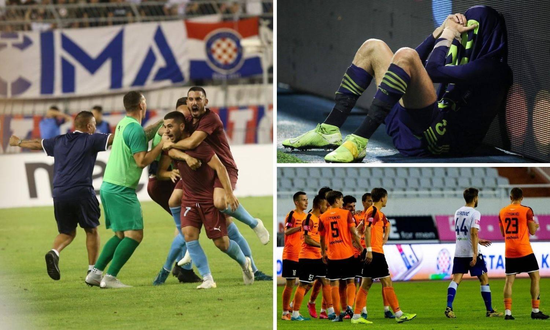 PRVA HNL 19/20: 'Modri' uspon i pad u Europi, debi Varaždina, Hajduk ispao od malteške Gzire