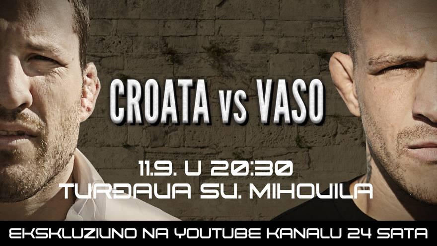 Megaspektakl u Šibeniku! Brutalna najava meča koji čeka cijela regija: Vaso vs. Croata
