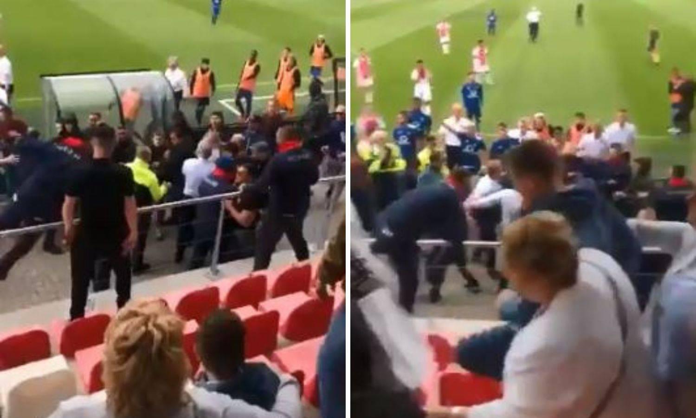 Sramotne scene: Huligani na tribini napali roditelje igrača!