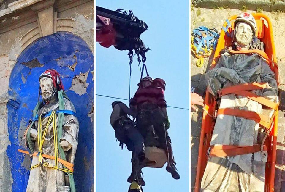 Spasili sv. Josipa: 'Unesrećeni je pažljivo spušten i prenesen'