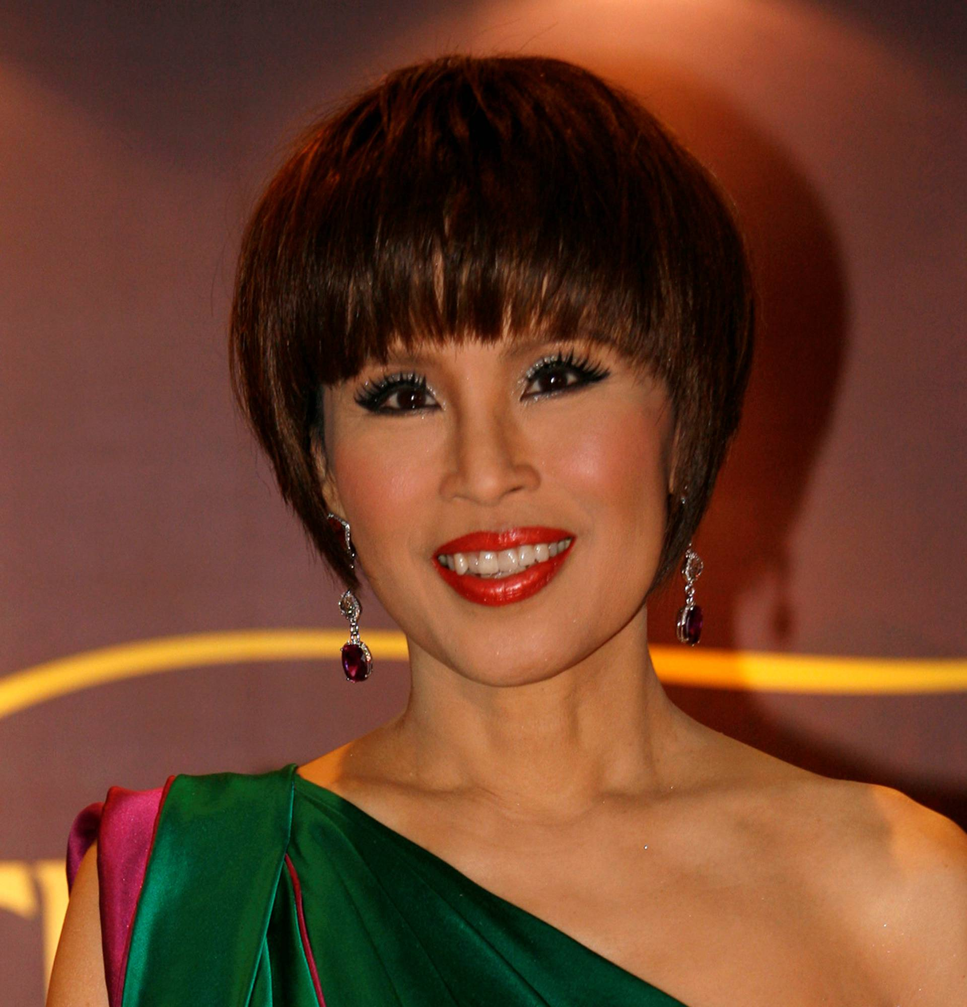 """Ubolratana Rajaka, Princess of Thailand, attends """"Thailand Hub of Entertainment"""", a film and entertainment industry event for investors, in Hong Kong"""