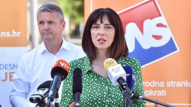 Čakovec: Konferencija za medije nezavisne kandidatkinje Blaženke Divjak