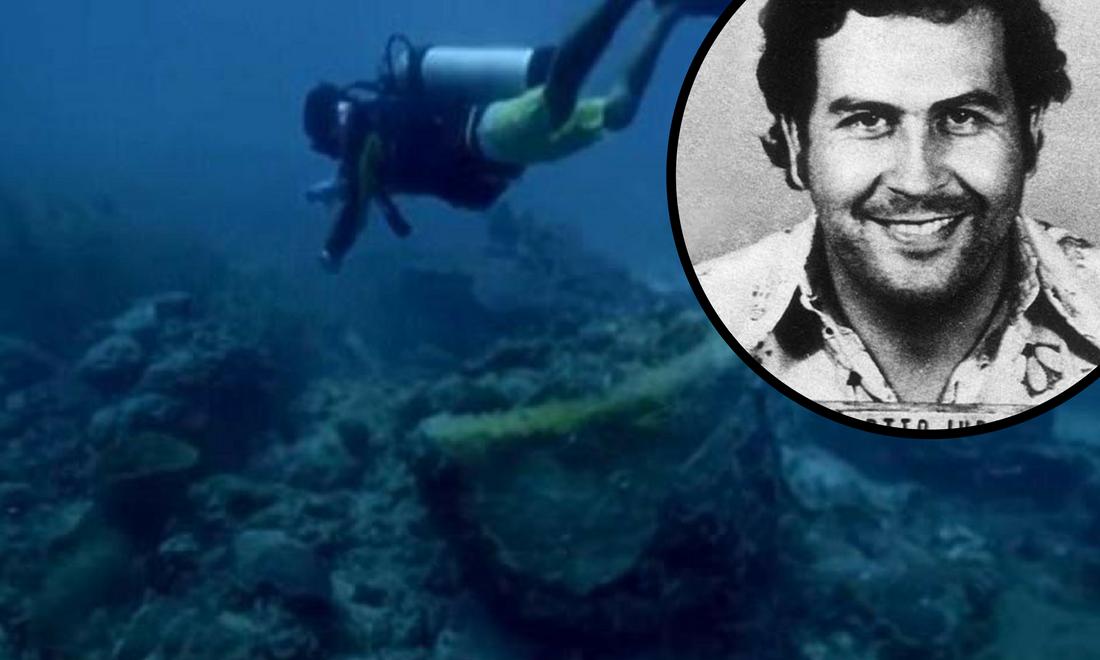 Otkrit će gdje je novac? 'Našli smo Escobarovu podmornicu'