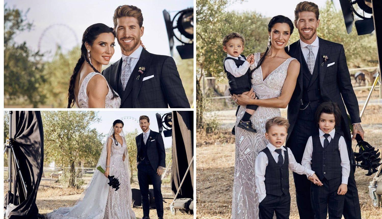 Dosad neviđene fotke vjenčanja Pilar i Ramosa: 'Kakva raskoš'