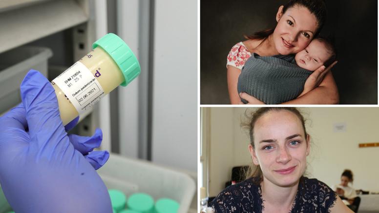 Mame doniraju svoje mlijeko za Palčiće: Tako spašavamo živote