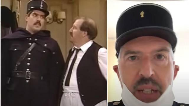 Vratio se žandar iz serije 'Allo 'Allo! i dao upute za karantenu