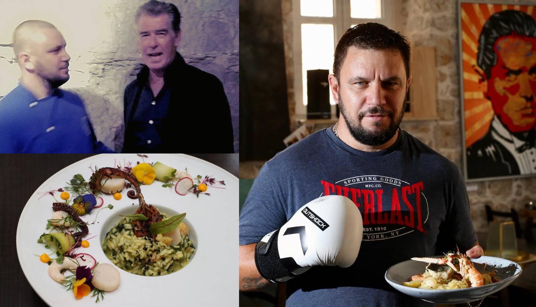 Boksačke rukavice zamijenio je kuhačom: Moja dalmatinska jela obožava i Pierce Brosnan
