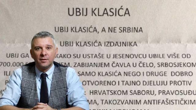 Povjesničar Hrvoje Klasić dobio prijeteće pismo: 'Ovo nije prvo, ali je možda najdegutantnije'