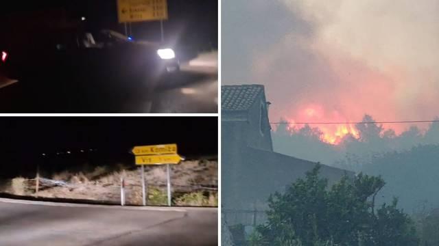 Vatrogasci obranili kuće, veliki požar stavili su pod  kontrolu