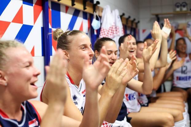 Europsko odbojkaško prvenstvo: Madjarska - Hrvatska