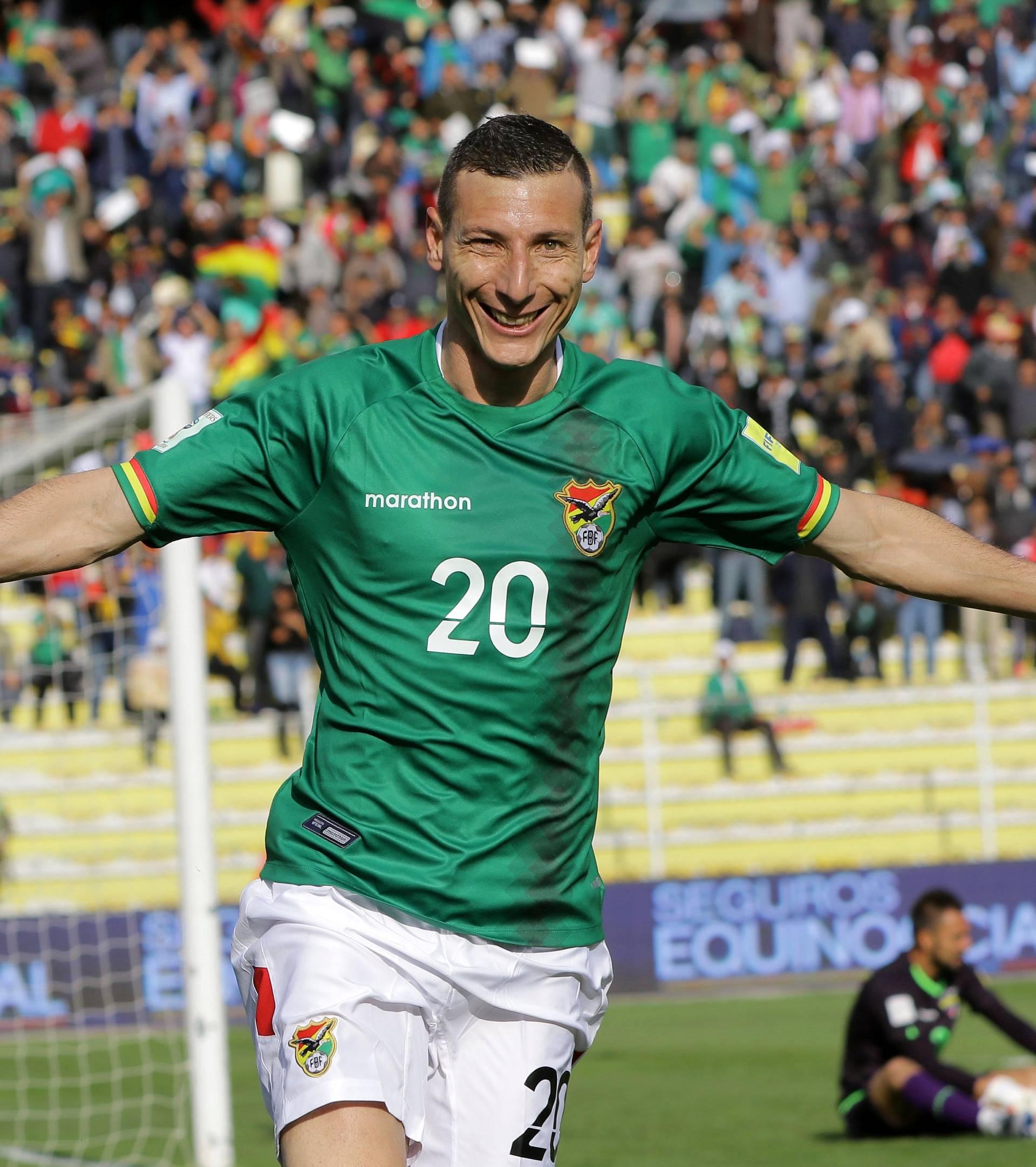 Football Soccer - World Cup 2018 Qualifier - Bolivia v Ecuador
