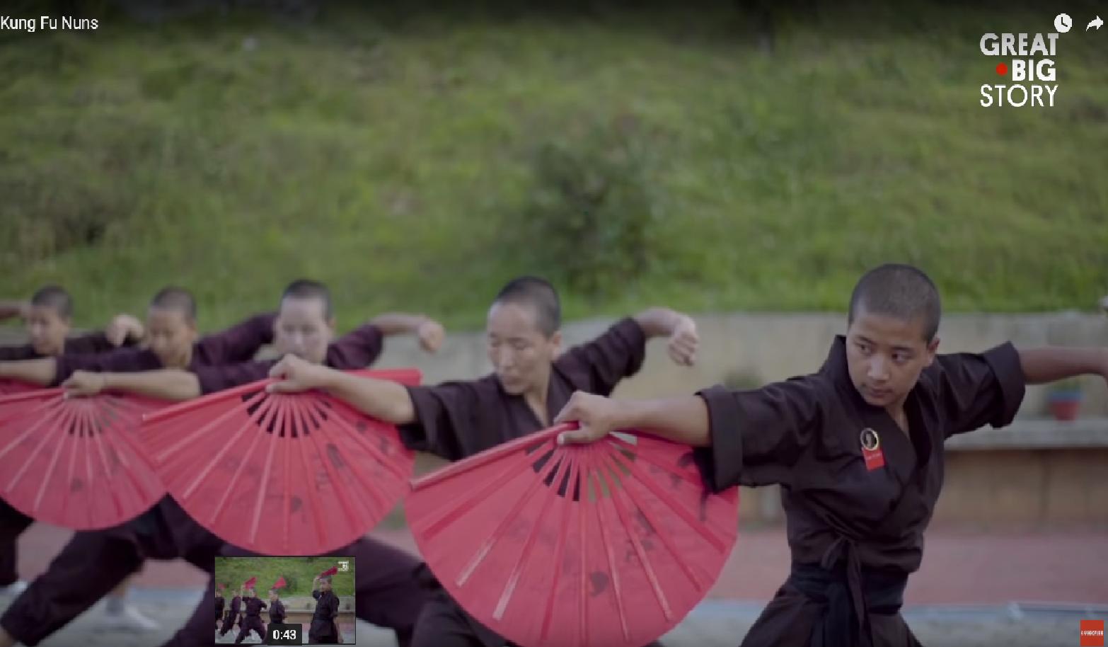 'Kung Fu redovnice' mijenjaju sliku o 'slabijem' ženskom redu