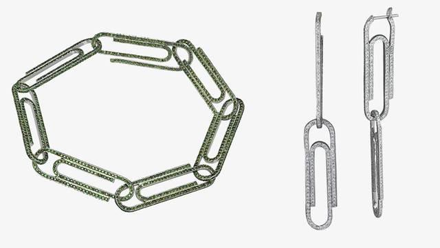 Spajalice kao glavni motiv nove kolekcije nakita Virgila Abloha