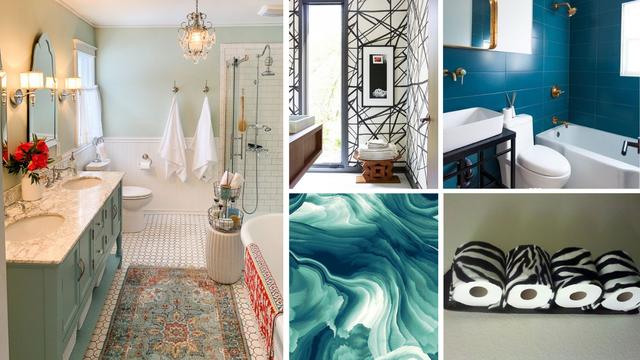 Kupaonica kao oaza okićena lusterima, mramorom i svjetlom